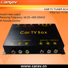 TV tuner cable box with 2ways AV output