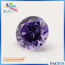Size 7mm Beautiful Decorations Stones Round Brilliant Cut Rough Labradorite Cut Stone Lavender Hot Sale