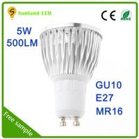Hot sale and high brightness smd 5w led mr16 spotlight