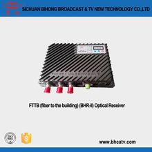 high quality power adapter input AC220V or AC60V input FTTB(fiber to the building)(BHR-II) Optical Receiver