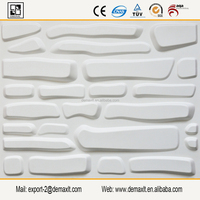 DIY matching and design plastic brick panels for walls, brick style pvc material 3d wall paneling