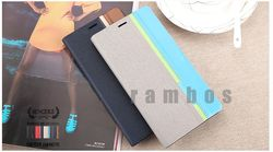Leather Flip Wallet Case Holder Cover Pouch with ID Credit Card Slot for Blackberry 8900