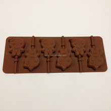 silicone ice cube tray Baby girl lollipop silicone chocolate moulds, silicon candy molds, cake molds for cake decorating