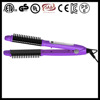 Hot selling in Thailand 2 in one hair brush straightener lcd