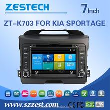 for kia sportage car stereo with CE EMC LVD FCC