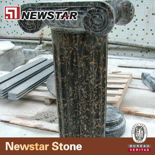 Colonne de pierre de jardin pilier id de produit for Colonne decorative exterieur