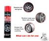 650ml Car Care Tire Foam Polish, Tire Cleaner Spray, Spray Tire Foam