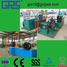 decoration staple pin wire drawing and flattening machine 2.2to 0.6mm outlet 10m/min new combination of wire drawing