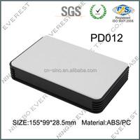 Beautiful plastic handheld enclosure for PCB board