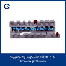 Fabricante personalizar silicona goma conductora pulsador