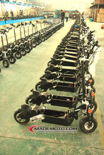 China Made Chain Drive Transmission 2 Wheels Portable Electric Scooter