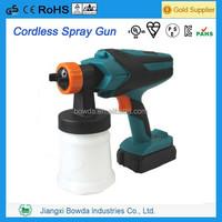 2014 Newest cordless paint spray gun