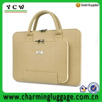 wholesale handmade felt tote bag /felt laptop bag notebook computer bag