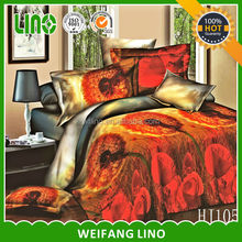 bedspread fabric/winter bed sheets/stitching bed sheet