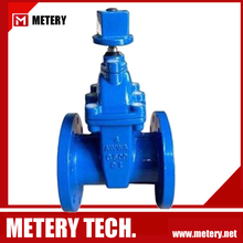 PN16 Double Flange Non Rising Stem Gate Valve