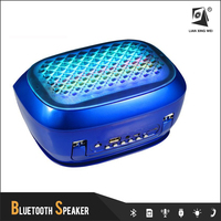 q98 New bluetooth speaker 2015 mini and flash led lightpromotional gift