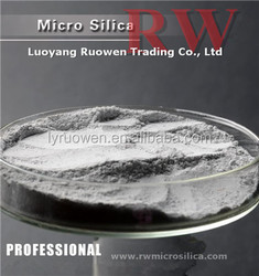 Densified Silica Fume SF90 above in refractory cement
