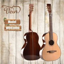 best quality slotted headstock steel string acosutic guitar