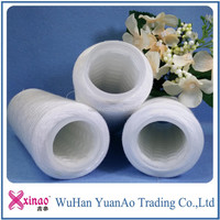 Free samples with free shipping Polyester sewing thread yarn price