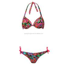 2015 New model Summer Print Breathable Bikini
