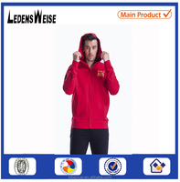 Mens Plain Thick Fleece Full Cheap hoodie coat jacket zip up hoodie