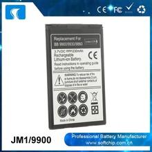 JM1 battery For blackberry Bold 9900 9930 9790 Battery Factory