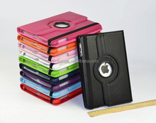 360 Degree Rotating Magnet PU Leathe Stand Cover Smart Case For Ipad Mini 1/2