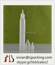 hot selling 10ml e vape oil plastic pen shape bottle Pen Shaped Plastic Spray Bottle with Silk Screen Printing