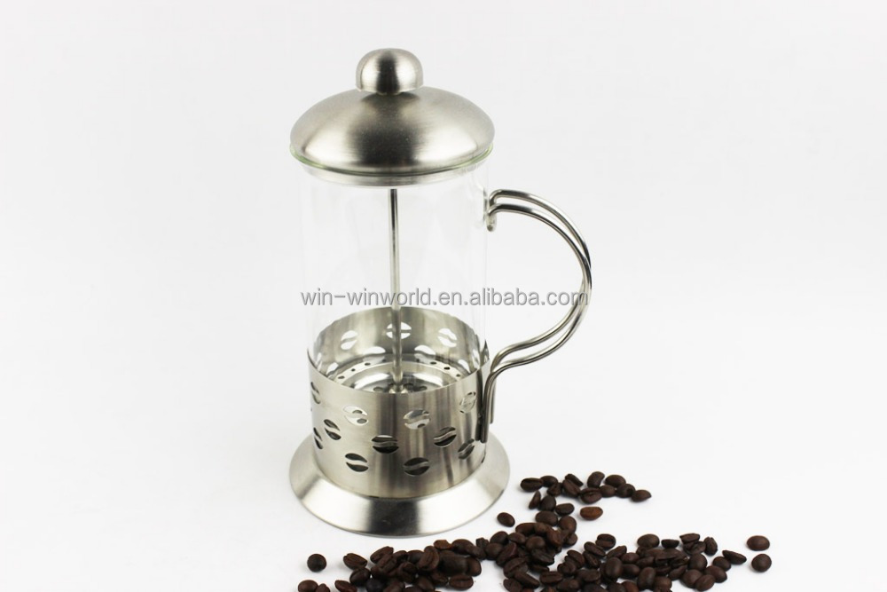Coffee Maker Set : Coffee Maker Set,French Press Coffee Plunger with Coffee Cup with Stainless Steel Holder