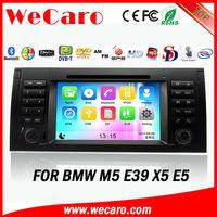 "Wecaro 7"" Car DVD Player for BMW E39/M5/X5/E53 with Bluetooth Ipod Radio"