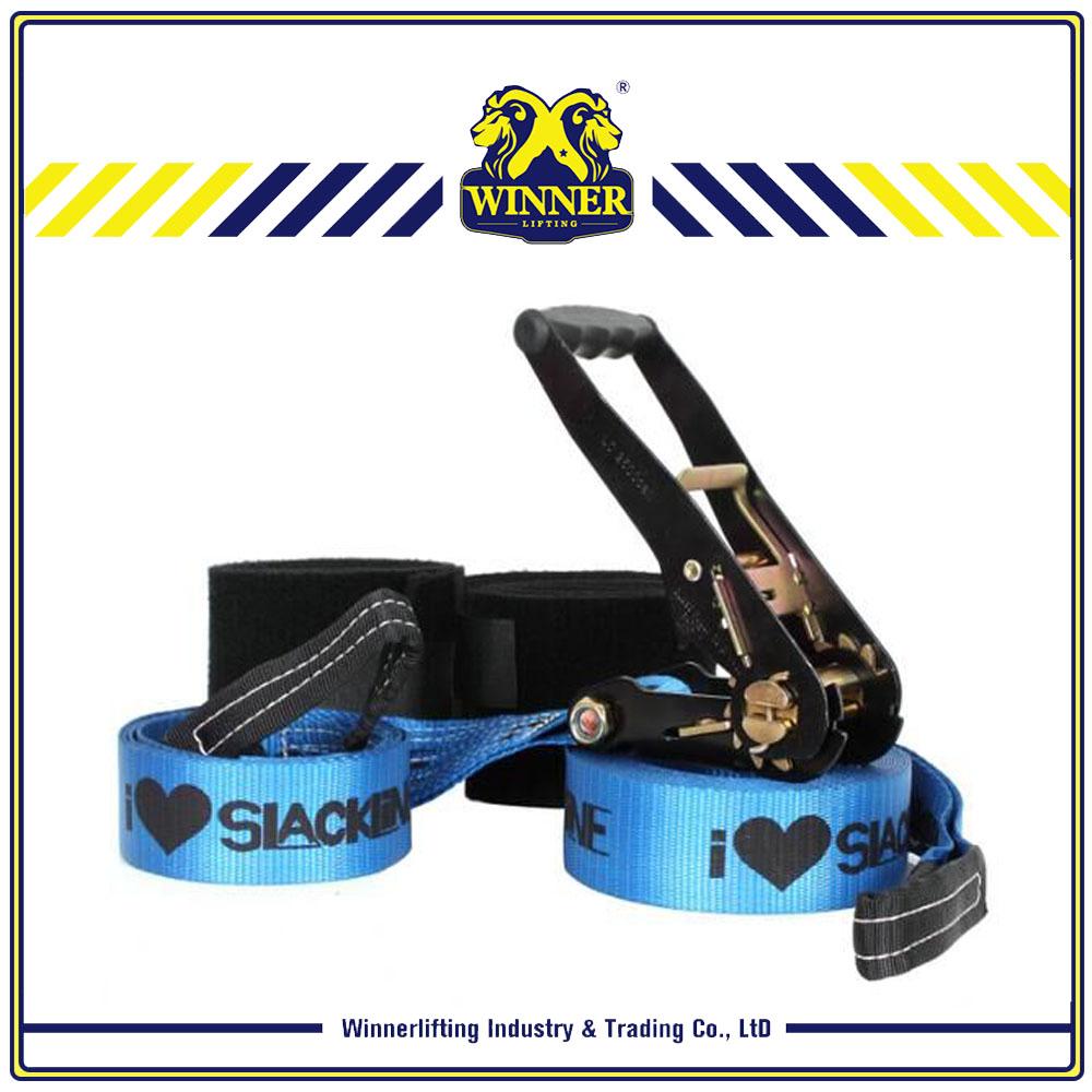 slackline blue