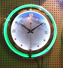 2014 Neon clock for Bar