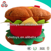 Lovely Hello Kitty Stuffed Soft Hamburger Plush Toy