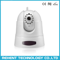 Wide Angle View Pan Tilt HD Surveillance Wifi Camera IP System support SD Card Recording Video and Take Snapshot