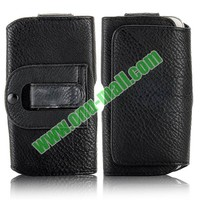 Belt Clip Magnetic Pouch Flip Leather Holster Case for Samsung Galaxy S4