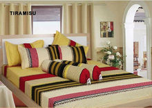 ready made fitted sheet sets/pillow cases/bolster cases in stock