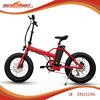 500W rear motor 20 inch mini fat tire folding/foldable electric pocket bike
