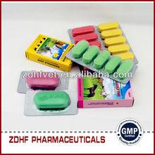 Medicine antibiotic tetracycline oxytetracycline bolus for diseases