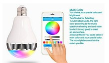 With Remote Controller Bluetooth Music Play RGB White LED Light