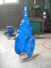 Resilient Seated Non Rising Stem Gate valve with stem Cap