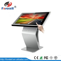 New HD Touch Screen advertising TV LCD Digital Signage with Timer