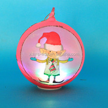 2015 personalized kids ornaments with LED