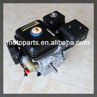7hp 210cc Horizontal Shaft Gasoline Engine 170F type Fuel Shut Off and Recoil Start