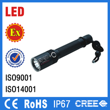 IP67 explosion proof led torch 3w rechargeable safety led hand lamp portable light