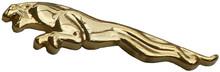 JAGUAR LEAPER GILT GOLD COLOUR LAPEL PIN badge