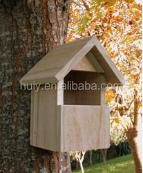 See Through Bird House, Window Birdhouse - Easy Build Birdhouse - Bird Watching Kit For Kids, Adults
