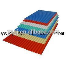 Techos de metal de hoja de acero corrugado galvanizado/de zinc para techos de hoja gi/chapa perforada/prepintado