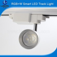 Intelligent home light 7w rgbw milight wifi led bulb led track light