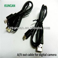 earphone & microphone retractable cable optical to rca cables