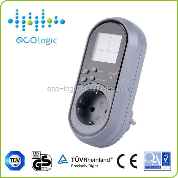 Portable Electric Power Meter : Prepaid portable energy meter electric kwh power